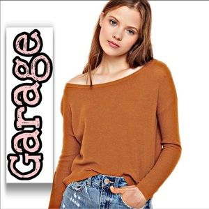 Garage Long Sleeve Sweater Small